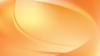 Abstract Orange Wavy Background Design