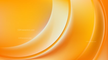 Orange Abstract Wavy Background