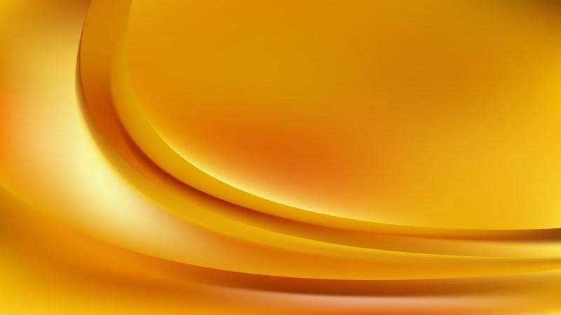 Orange Abstract Wave Background