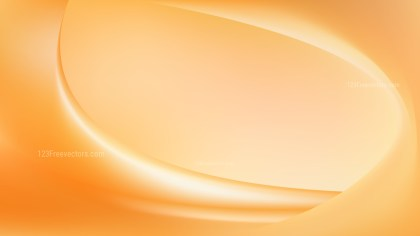 Abstract Orange Wavy Background Vector Graphic