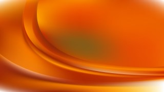 Abstract Orange Curve Background Vector Image