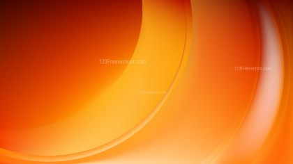 Orange Abstract Wave Background Illustration