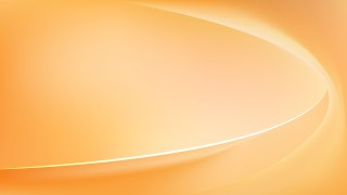 Orange Wave Background Template