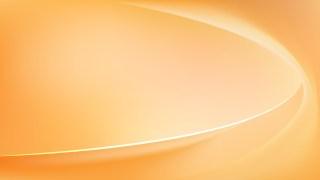 Orange Wave Background Template