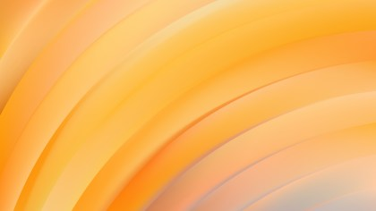 Abstract Orange Shiny Curved Stripes Background
