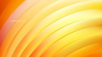 Orange Curved Stripes