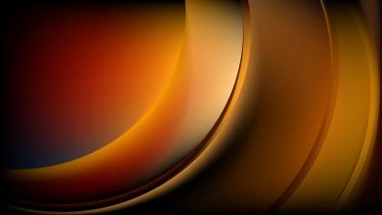 Orange and Black Wave Background Image
