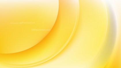 Orange and White Abstract Wave Background Template