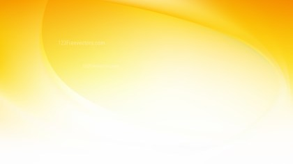 Glowing Abstract Orange and White Wave Background
