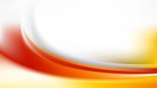 Orange and White Wavy Background