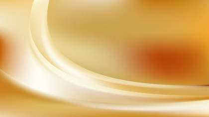 Abstract Orange and White Wave Background Illustration