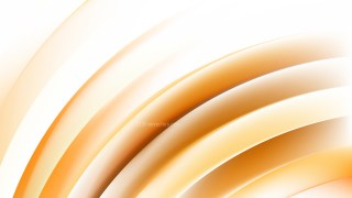 Abstract Orange and White Curved Stripes