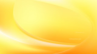 Orange and Yellow Wave Background Template Vector