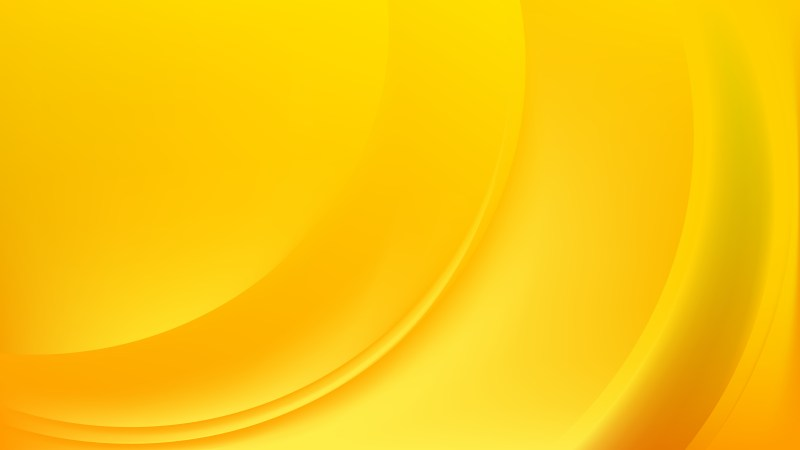 Orange and Yellow Wave Background Template