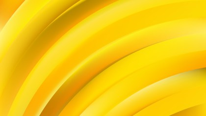 Abstract Orange and Yellow Shiny Curved Stripes Background
