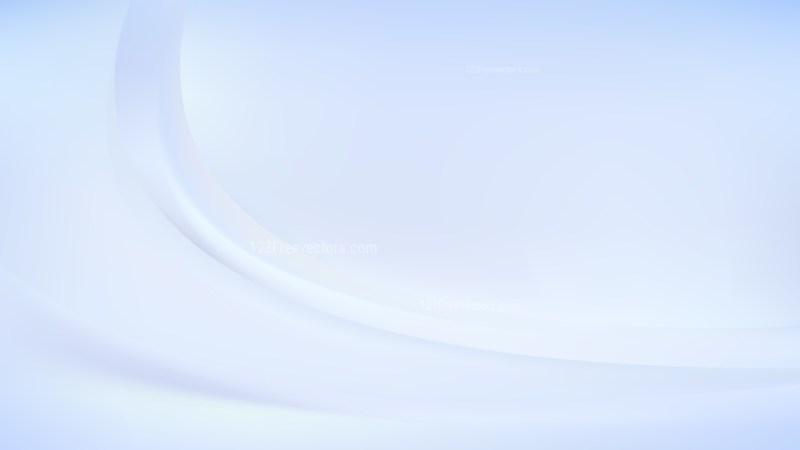Pastel Blue Curve Background Illustration
