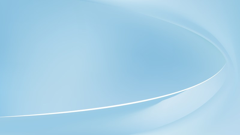 Pastel Blue Abstract Wave Background Template Vector