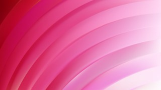 Abstract Pink Curved Stripes