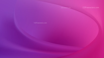 Abstract Pink and Purple Wave Background Illustration