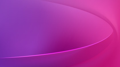 Abstract Glowing Pink and Purple Wave Background