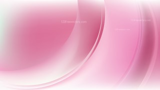 Pink and White Curve Background Vector Image