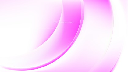 Abstract Pink and White Wave Background