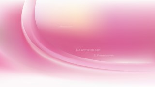Pink and White Abstract Wavy Background Design