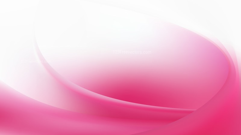 Pink and White Abstract Curve Background Image