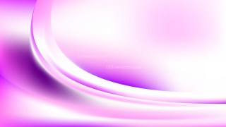 Pink and White Abstract Wave Background Template Vector Graphic