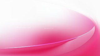 Pink and White Wave Background Template Vector Graphic