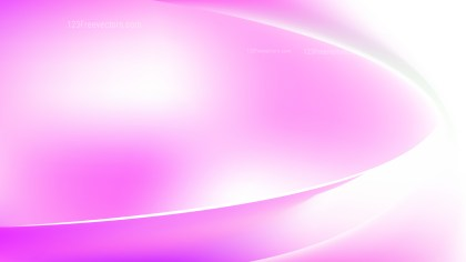 Abstract Pink and White Wave Background Vector Art