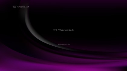 Purple and Black Curve Background