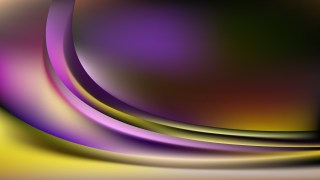 Purple and Gold Curve Background Vector Art