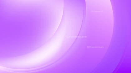 Abstract Glowing Purple and White Wave Background
