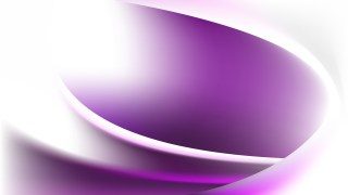 Purple and White Wave Background Template Vector
