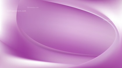 Abstract Glowing Purple and White Wave Background Design
