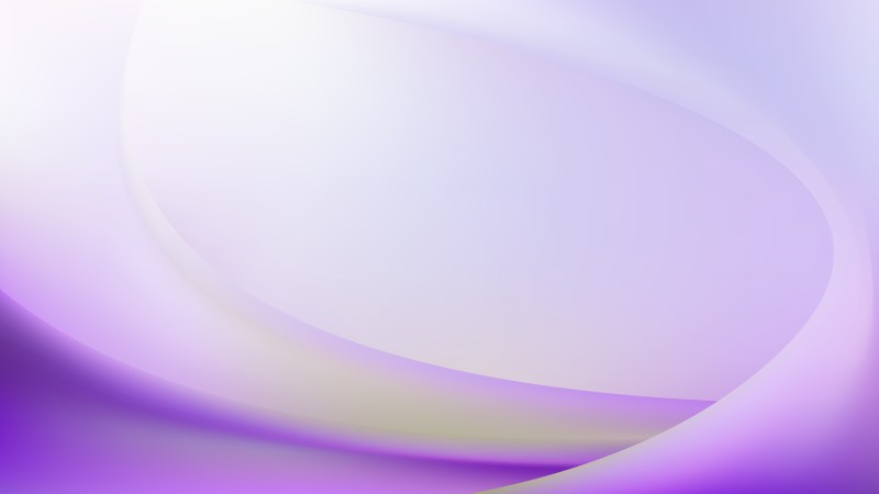 Abstract Purple Green and White Wavy Background Design