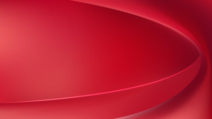 Red Abstract Wave Background Illustration