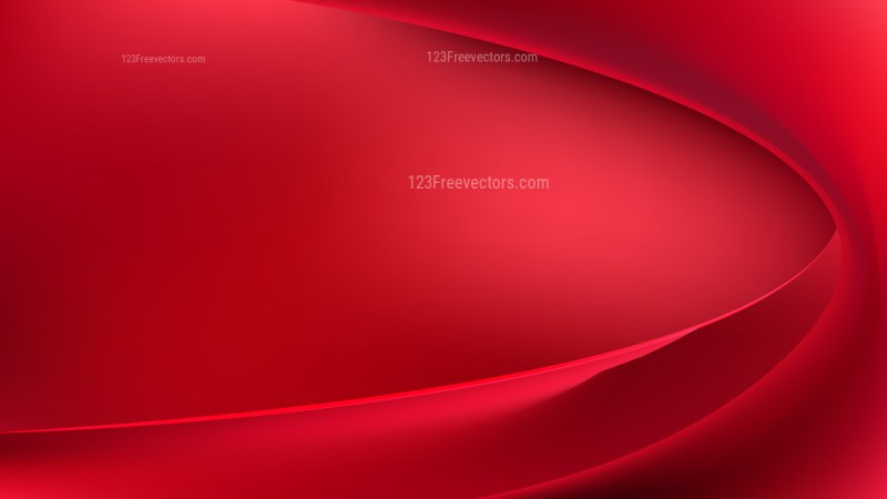 Red Abstract Curve Background