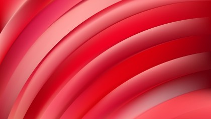 Abstract Red Shiny Curved Stripes Background Design Template