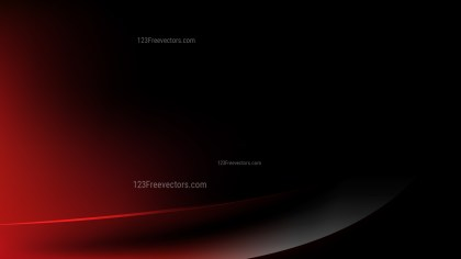 Red and Black Abstract Curve Background Illustration