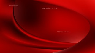 Abstract Red and Black Wavy Background