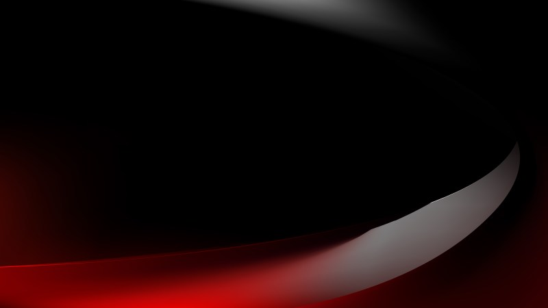 Red and Black Curve Background Vector Art
