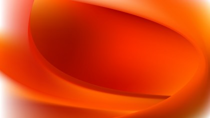 Red and Orange Abstract Wave Background