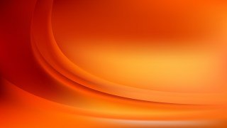 Red and Orange Wave Background Template Vector