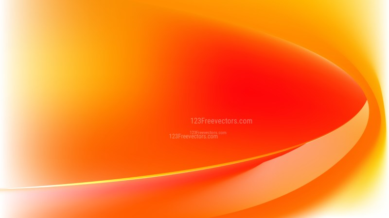 Red and Orange Wave Background