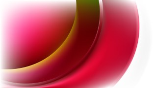 Glowing Red and White Wave Background