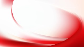 Abstract Red and White Wave Background Template Illustrator