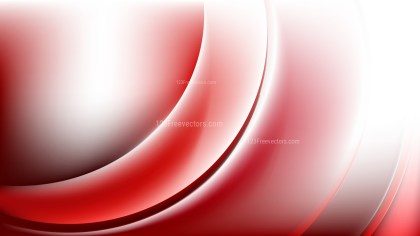 Red and White Abstract Curve Background Image