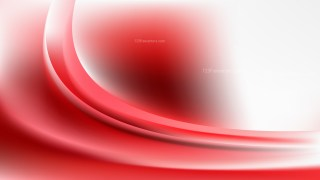 Abstract Red and White Curve Background